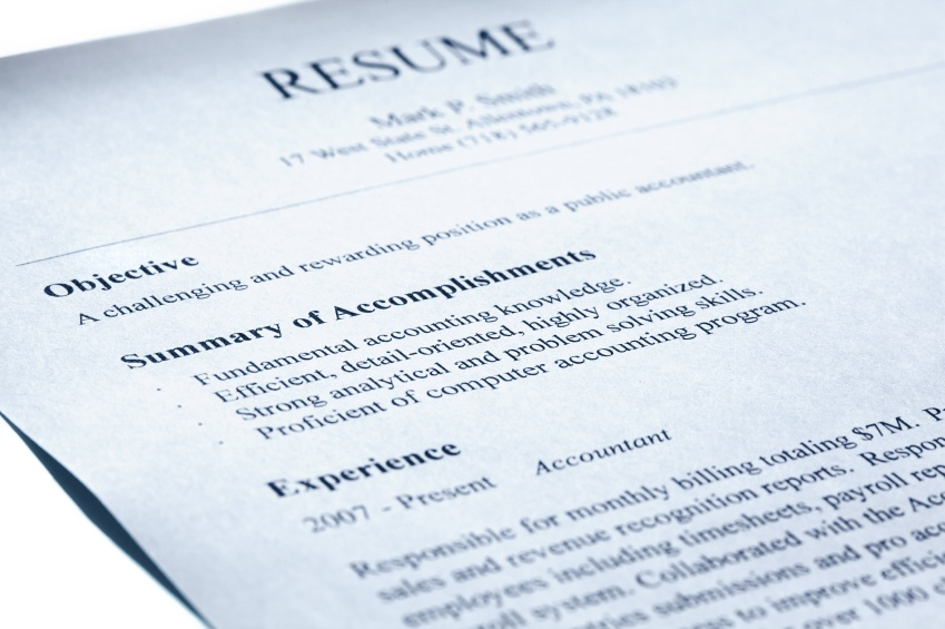 tips to write resumes
