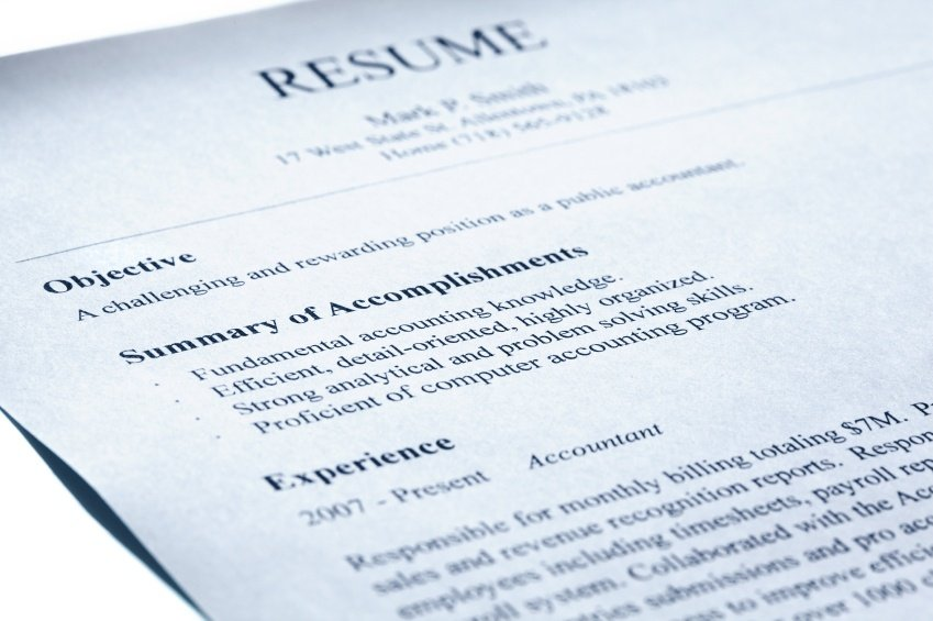 how to write an effective resumes